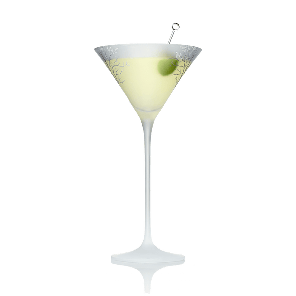 Shaken, not stirred with olive
