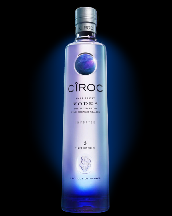 Vodka 3 Liter 40% Med LED-Lys