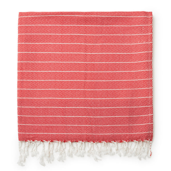 Turkish Beach Towel - Salmon