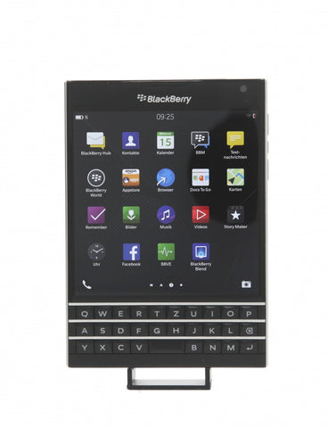BlackBerry Passport Piano Black libre - asgoodasnew.es - reacondinado