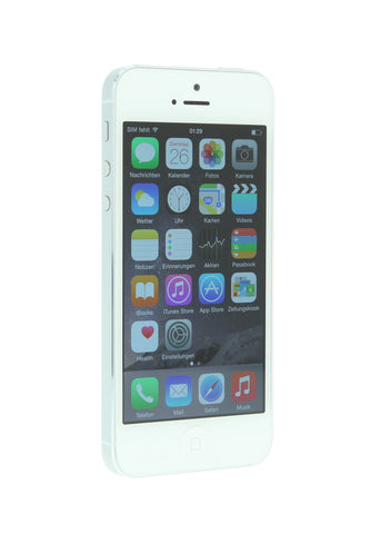 iPhone 5 32GB blanco - libre - asgoodasnew.es - barato
