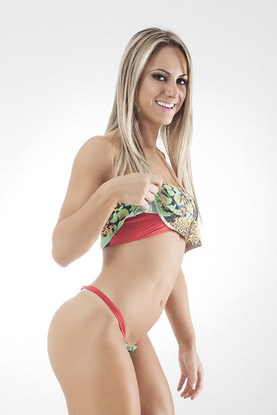 Delirium Bikini Set Red