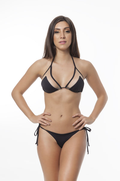 Fetch Black Bikini Set