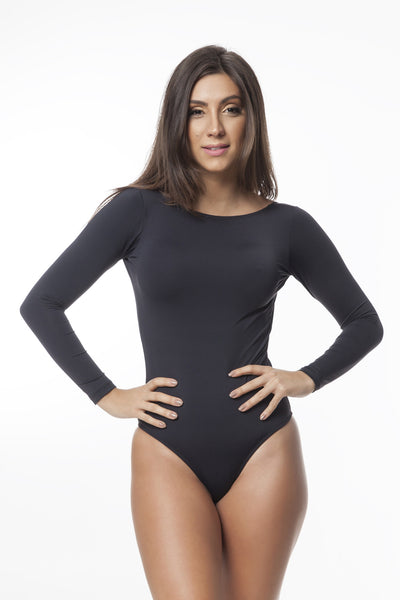 Go Black (UV Protection) Long Sleeve Onepiece