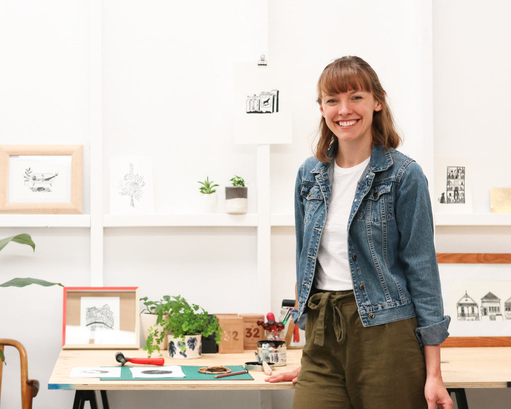 Studio Series: Hannah Pannell of Tiny Print Press