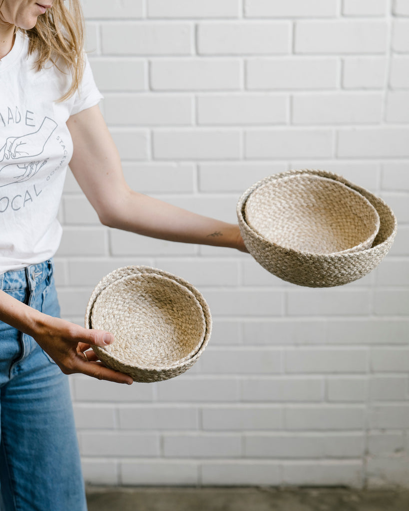 Jute Bowl Set of 4