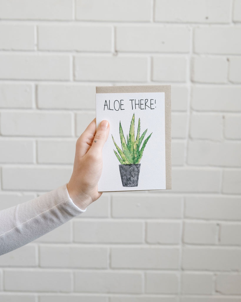 Botanical Pun Cards by Heart & Arrow