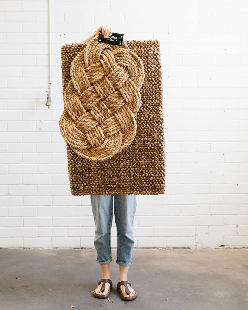 Braided Rope Doormat