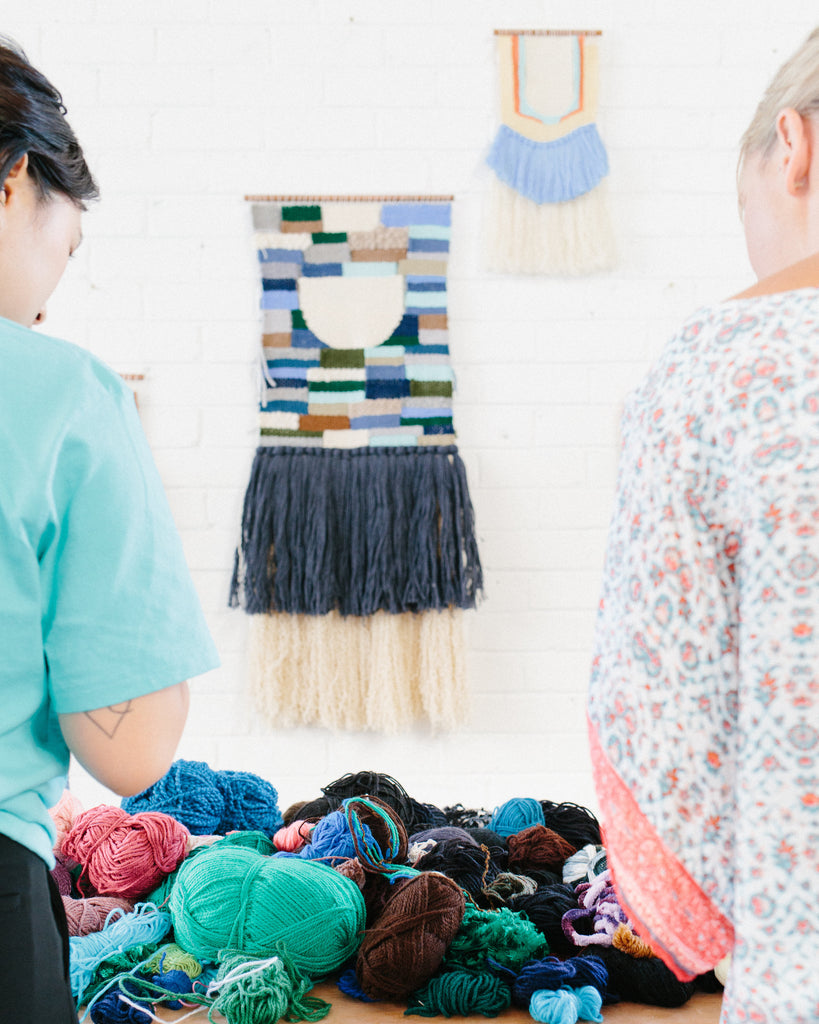 Woven Wall Hangings with Phoebe Phillips from Sunday Weaves