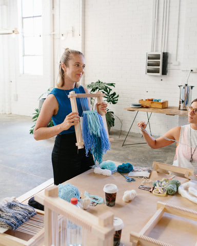 Make Your Own Woven Wall Hanging with Phoebe Phillips from Sunday Weaves