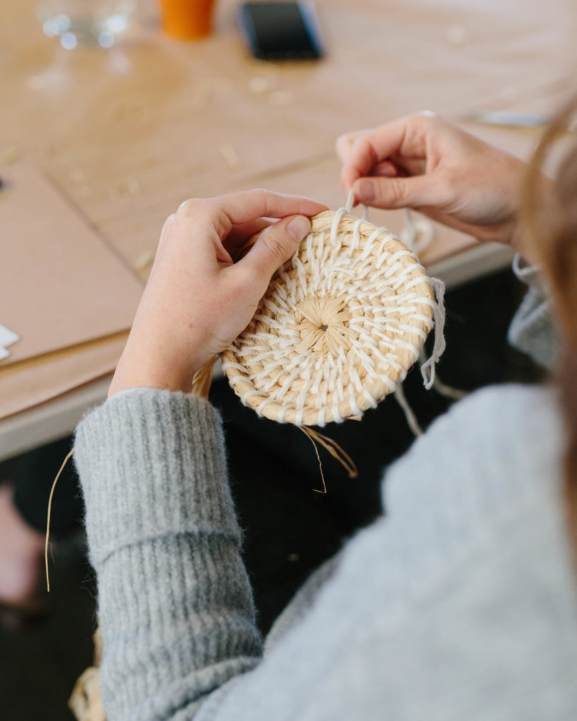 Make Your Own Woven Vessel with Siân Boucherd