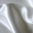 2 LUXURY SATIN PILLOWCASES - WHITE