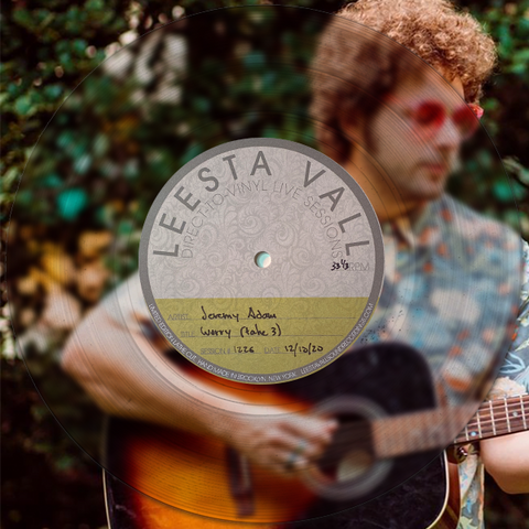 Direct-to-Vinyl Live Session #1226: Jeremy Adam