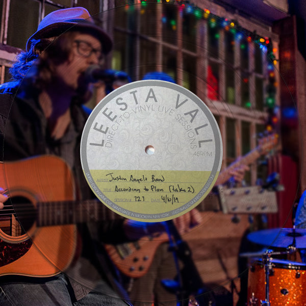 Direct-To-Vinyl Live Session #0727: Justin Angelo Band