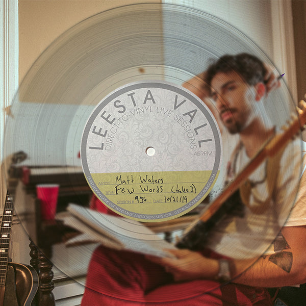 Direct-To-Vinyl Live Session #956: Matt Waters