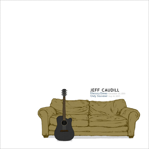 "Jeff Caudill Limited Edition Lathe Cut 7"" Record"