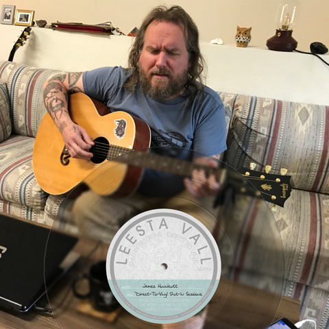 Direct-To-Vinyl Shut-In Session Preorder: James Hunnicutt