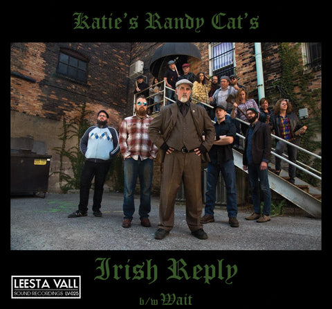 "Katie's Randy Cat Limited Edition 7"" Lathe Cut Record"