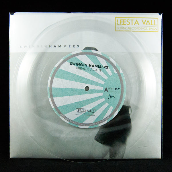 "Swingin Hammers Limited Edition 7"" Lathe Cut Record"
