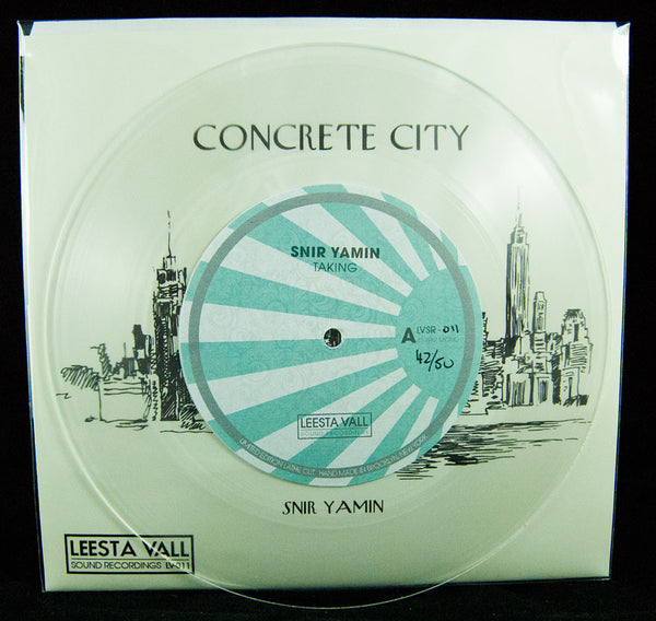 Snir Yamin Limited Edition 7″ Lathe Cut Record