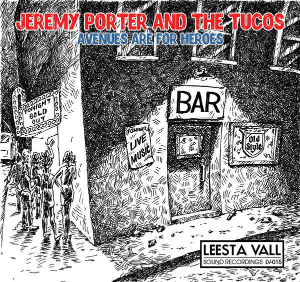 Jeremy Porter And The Tucos Limited Edition 7″ Lathe Cut Record