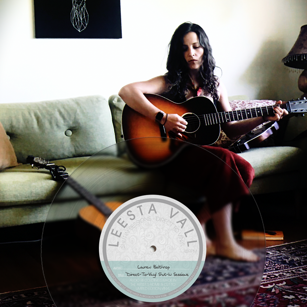 Direct-To-Vinyl Shut-In Session Preorder: Lauren Balthrop