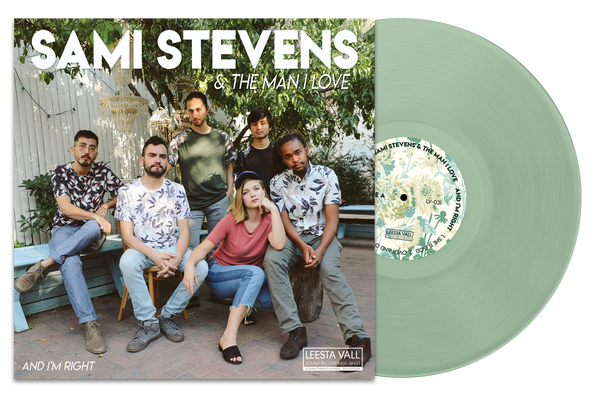 "Sami Stevens & the Man I Love: ""And I'm Right"" 12"" Vinyl"