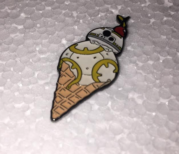 BB-8 Ice Cream Cone Pin lapel pin -  A pin from simppins simpsons thesimpins pingame