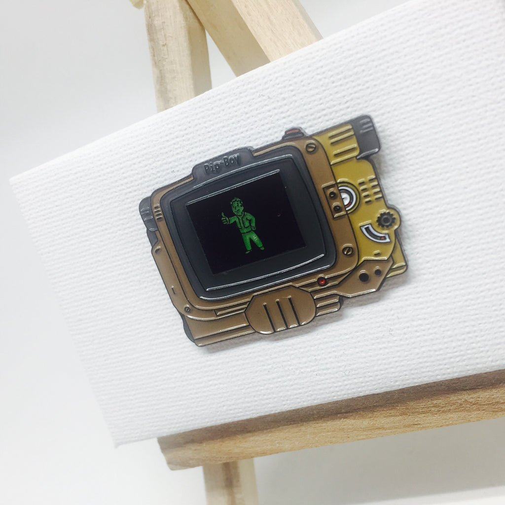 The Pip-Boy Pin lapel pin -  A pin from simppins simpsons thesimpins pingame