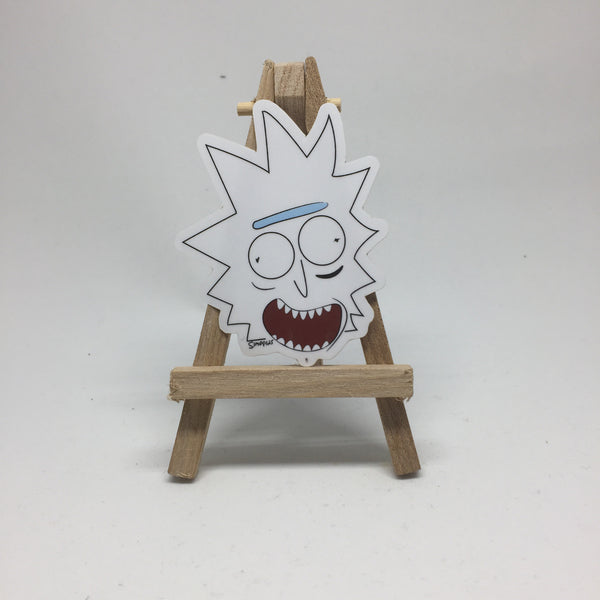 Rick Stick-er lapel pin -  A pin from simppins simpsons thesimpins pingame
