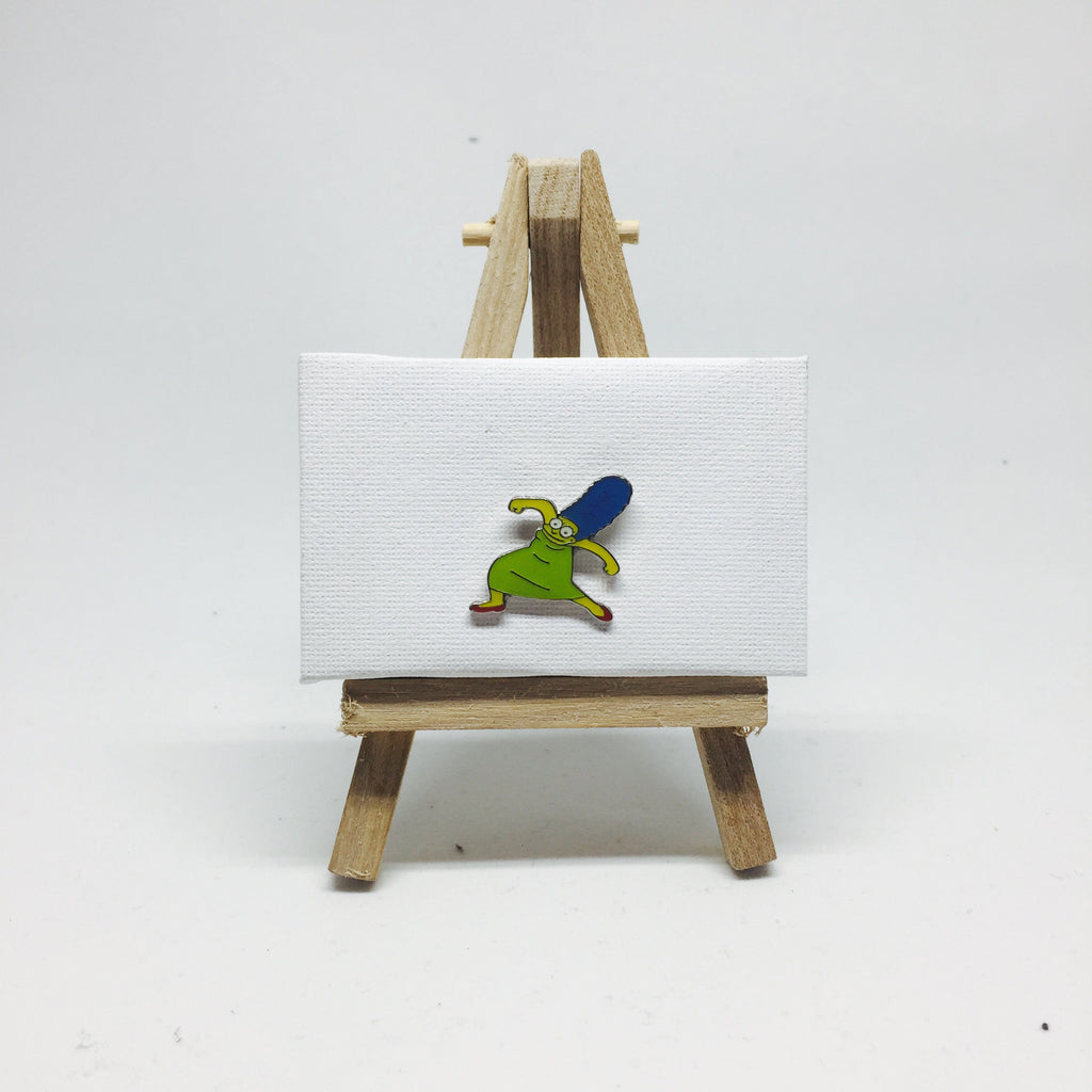 Krumping Marge Enamel Pin lapel pin -  A pin from simppins simpsons thesimpins pingame