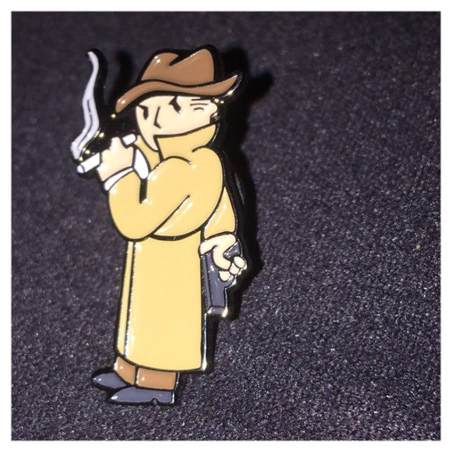 Mysterious Stranger Pin lapel pin -  A pin from simppins simpsons thesimpins pingame