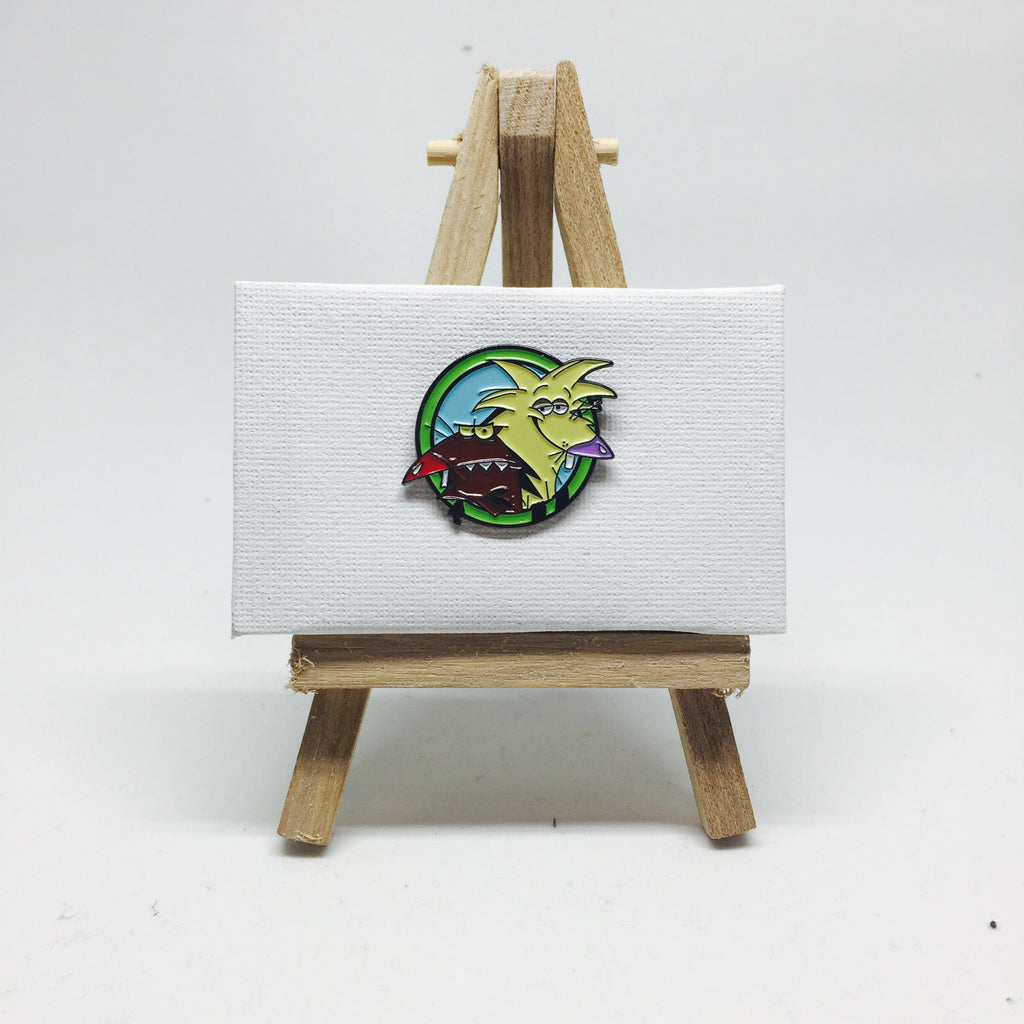 The Angry Beavers Pin lapel pin -  A pin from simppins simpsons thesimpins pingame