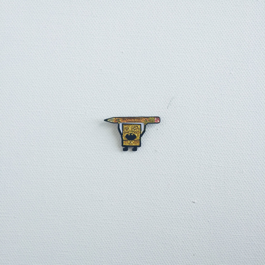Sparklebob lapel pin -  A pin from simppins simpsons thesimpins pingame