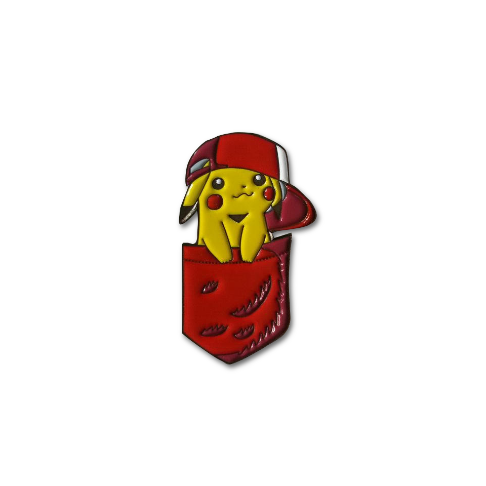 Pocket Pikachu Pin lapel pin -  A pin from simppins simpsons thesimpins pingame