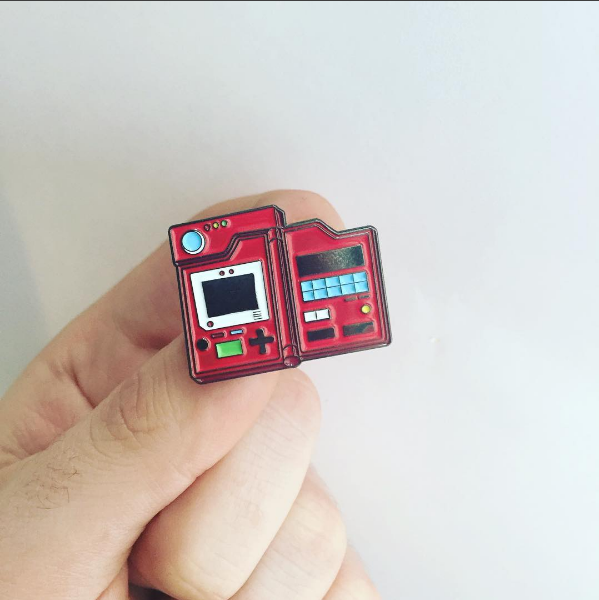 Pokedex Pin lapel pin -  A pin from simppins simpsons thesimpins pingame