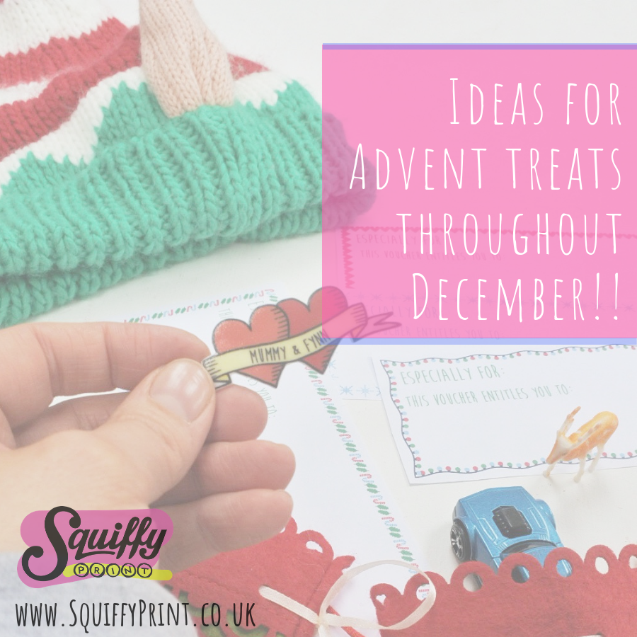 🎄Ideas for Advent treats throughout December!!🎄