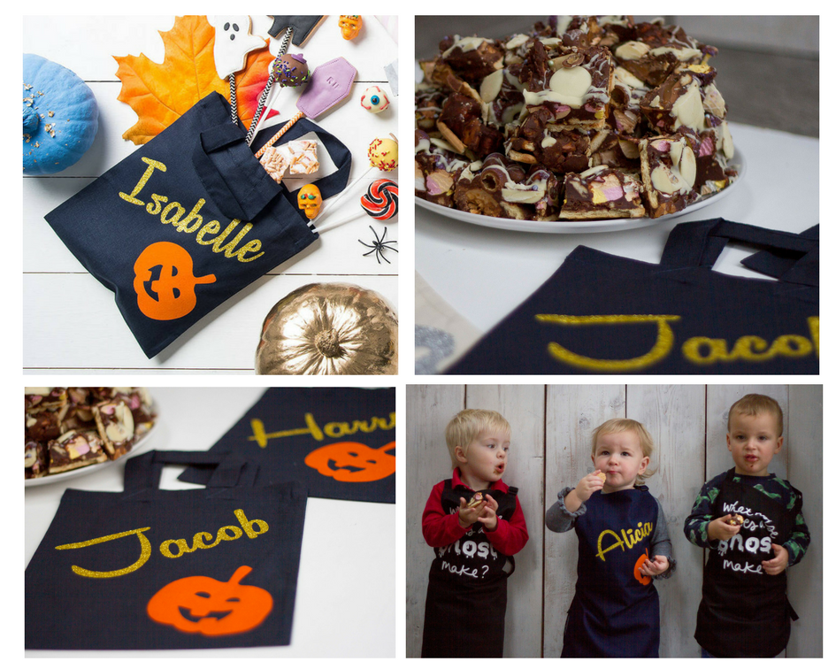 Squiffy Print trick or treat bags