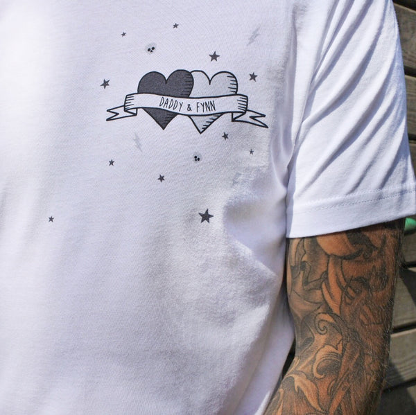 Tattoo t-shirt by Squiffy Print