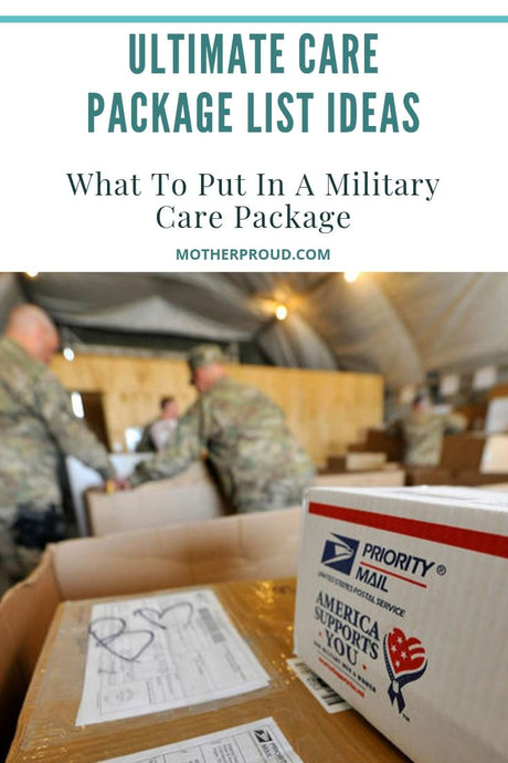 Ultimate Care Package List Ideas: What To Put In A Military Care Package