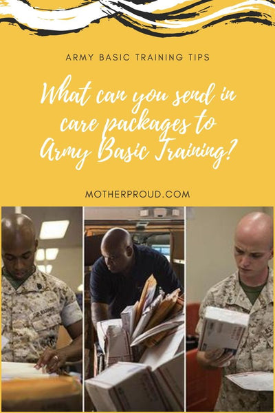 What Could You Send In An Army Basic Training's Package?