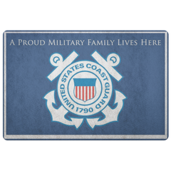 A Proud Military Family Lives Here Doormat