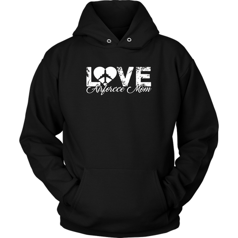 Air Force Mom Shirt - Love Air Force Mom Tshirt - MotherProud