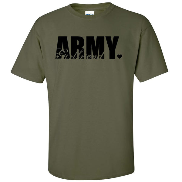 Army Girlfriend Cute T-shirts