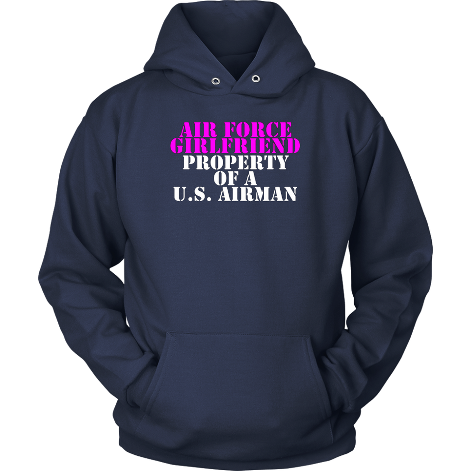 Air Force Girlfriend - Property of a U.S. Airman - MotherProud