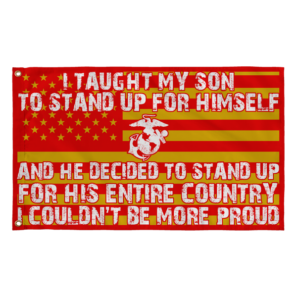 Marine Mom Couldn't Be More Proud Flag