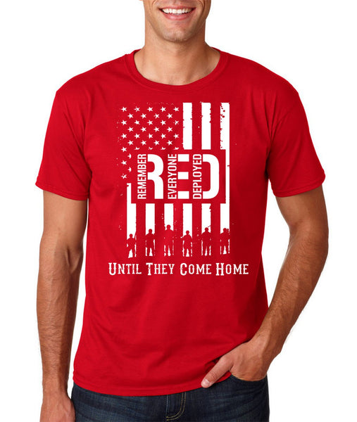 Remember Everyone Deployed Military T-shirts