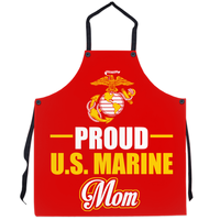 Proud U.S Marine Mom Apron