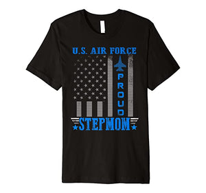 US Air Force Proud Stepmom T-shirts