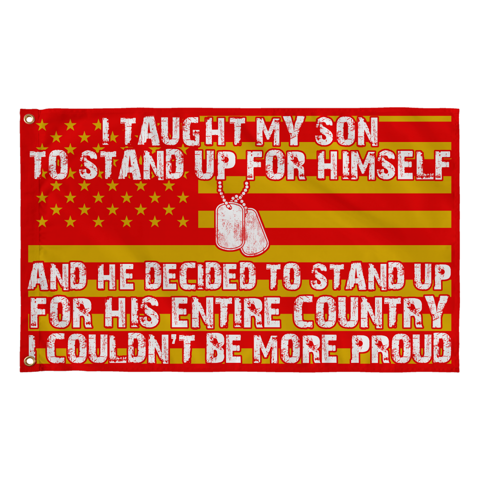 Army Mom Couldn't Be More Proud Flag - MotherProud